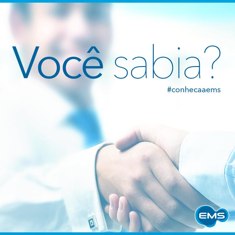 Em 2006, a EMS assinou a parceria com a MonteResearch, localizado na Itália. #conheçaaEMS