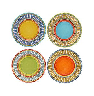 Certified International by Nancy Green Valencia Set of 4 Dinner Plates  sc 1 st  Pinterest & Certified International by Nancy Green Valencia Set of 4 Dinner ...