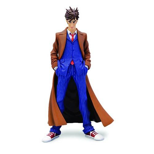 Doctor Who 10th Doctor Blue Suit Dynamix Statue Entertainment Earth Activewear Fashion Doctor Who 10 10th Doctor