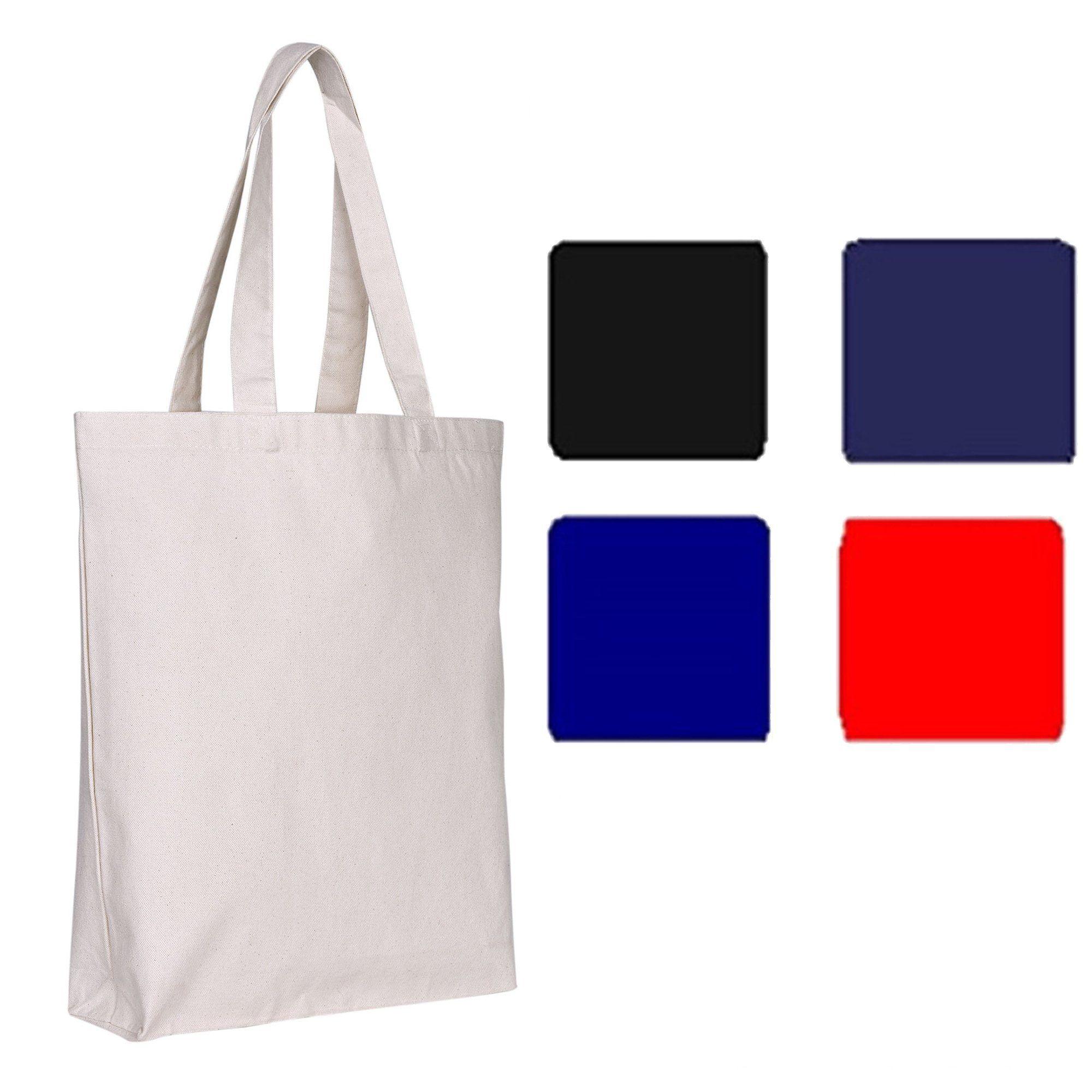 92f04a6ea7a Canvas Tote Bags Bulk - Blank Canvas Bags w/ Bottom Gusset | TG200 ...