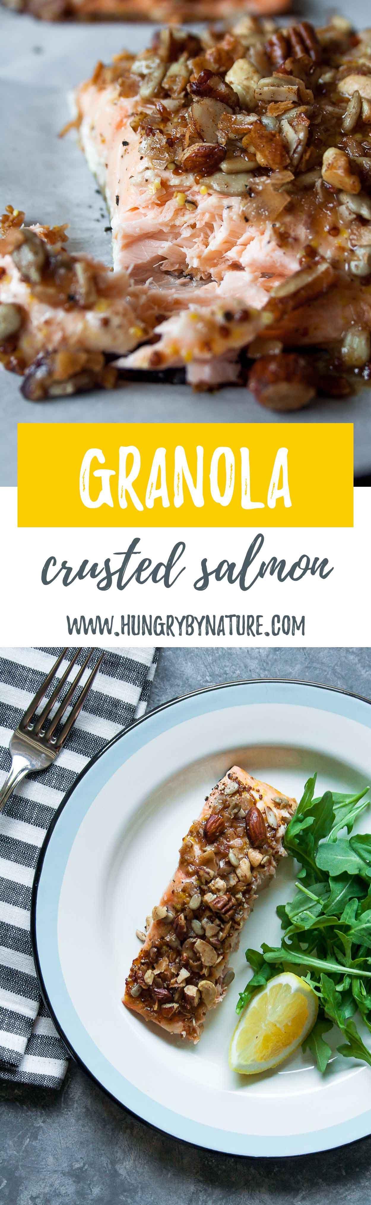 Granola crusted salmon recipe grain free granola