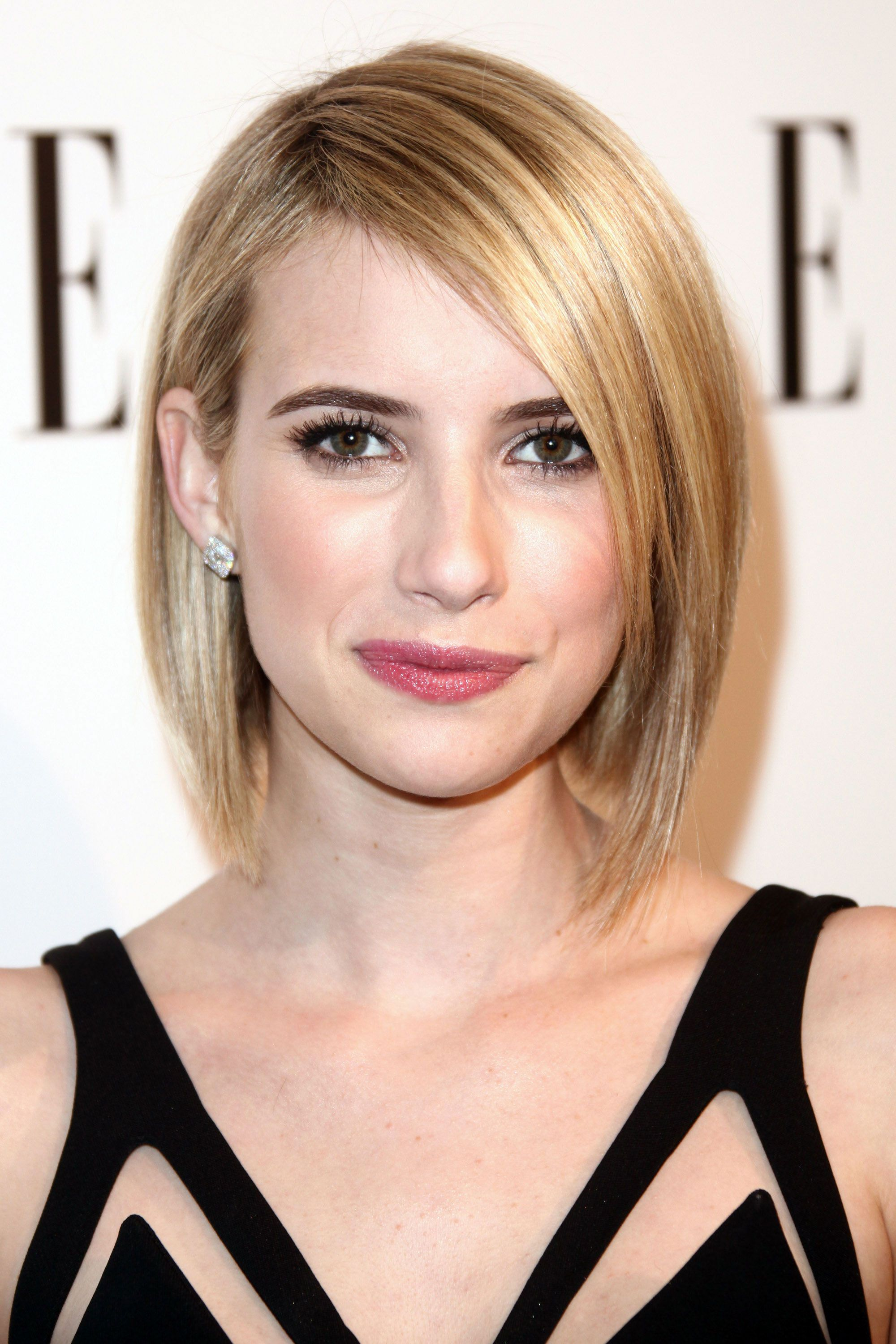 the 42 best celebrity bob & lob haircuts | celebrity bobs, emma