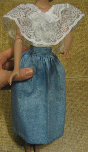 Little Known Ways to Make Doll Clothes Yourselves | Barbie clothes ...