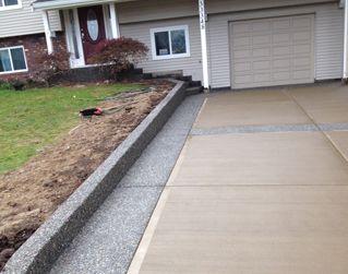 Concrete · A Broomed Concrete Driveway Design
