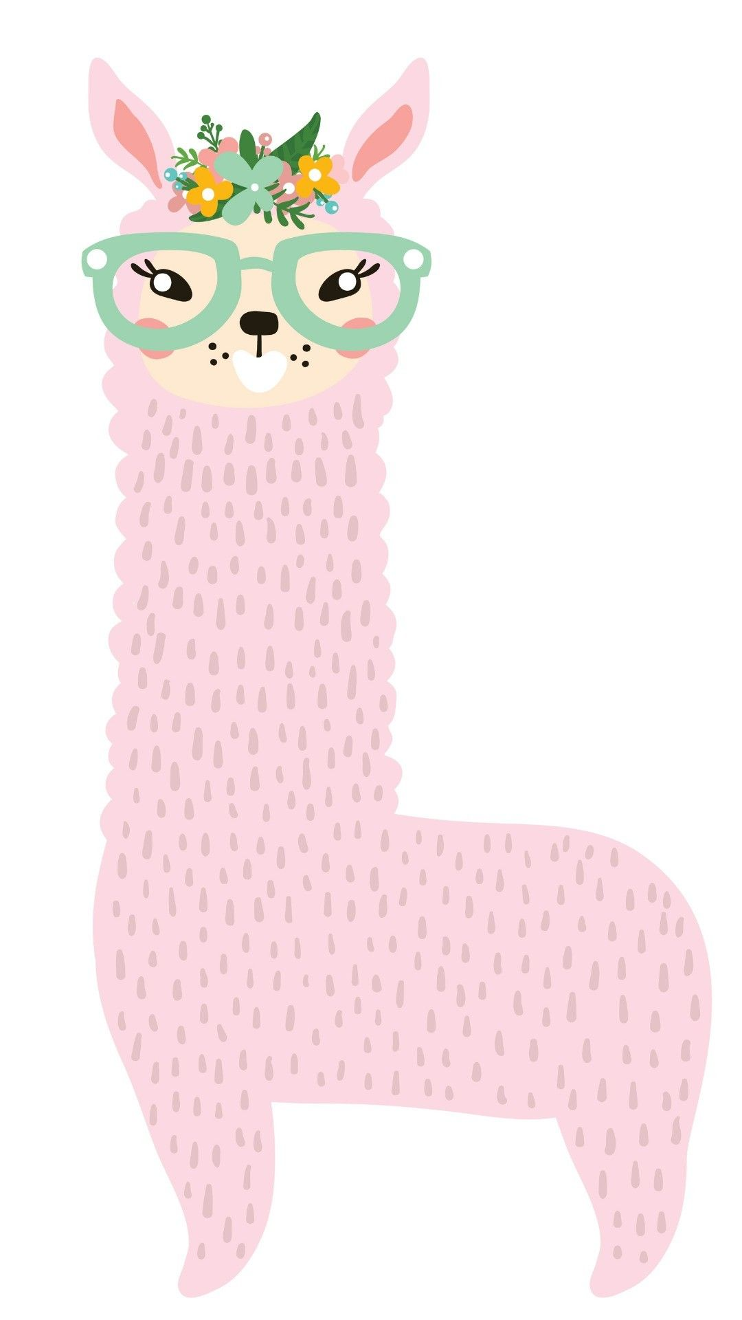 Sweety Llama Cute wallpapers, Iphone wallpaper, Wallpaper
