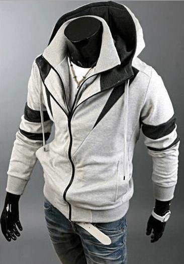 ae3aa5e8643 Assassin Double Zipper Hoodie