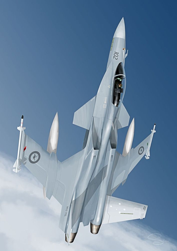 Advanced Australian Fighter Concept Fighter Jets Fighter Aircraft Military Aircraft