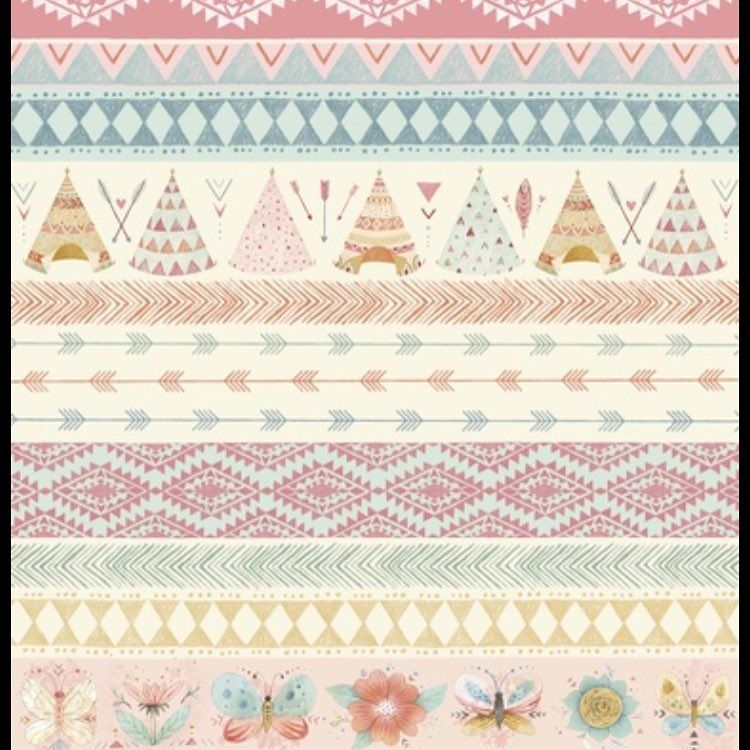 Just released by @studio_e_fabrics is this amazing Dream Catchers fabric by…