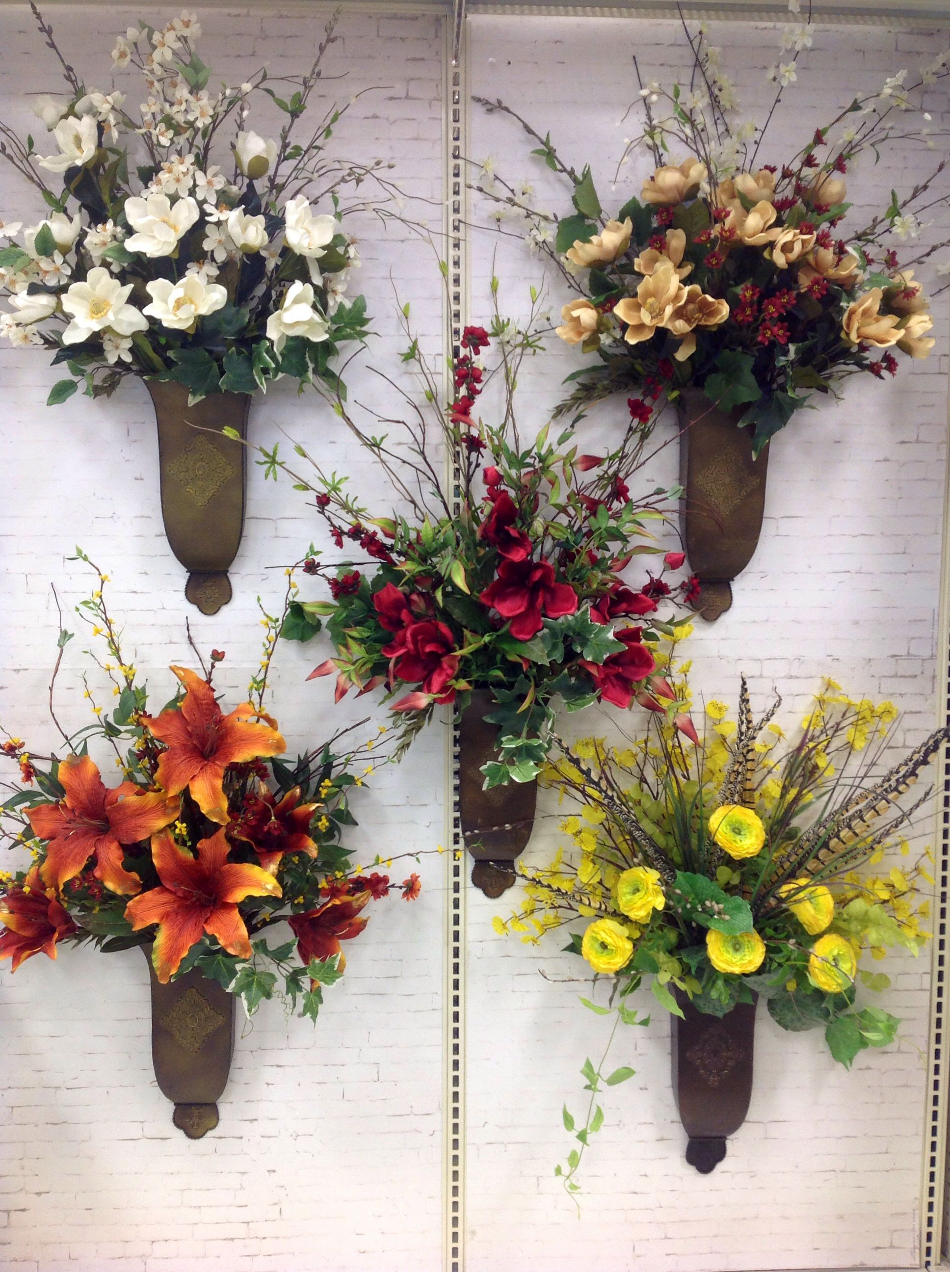 Spring 2014 , by Andi (9989) | Flower arrangements ... on Decorative Wall Sconces For Flowers Arrangements id=94601