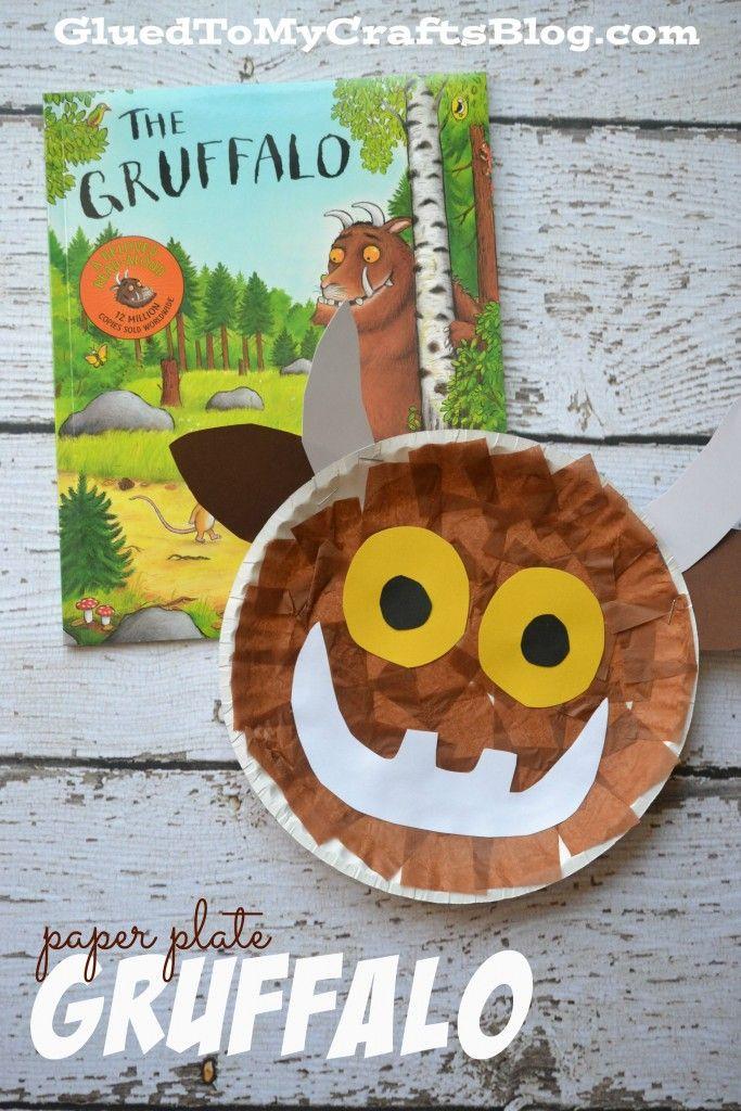 Paper Plate Gruffalo {Kid Craft} (With images) | Gruffalo ...