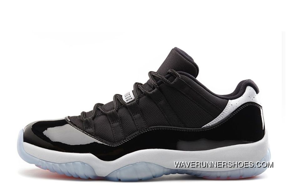 a64b0bb48e4c68 2014 Air Jordan Xi (11) Low Infrared23 Black Infrared 23-Pure Platinum Best