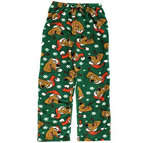 5536369c1f Scooby Doo Mens Christmas Holiday Fleece Lounge Pants