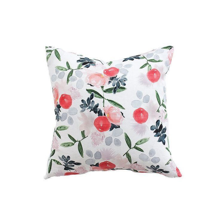 Watercolor Floral - Pillows