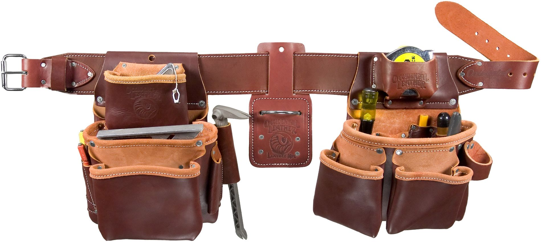 Occidental Leather Pro Framer Tool Belt Set With Double