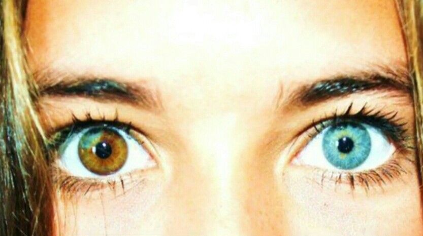 Her Eyes Cool Eyes Different Colored Eyes Pretty Eyes