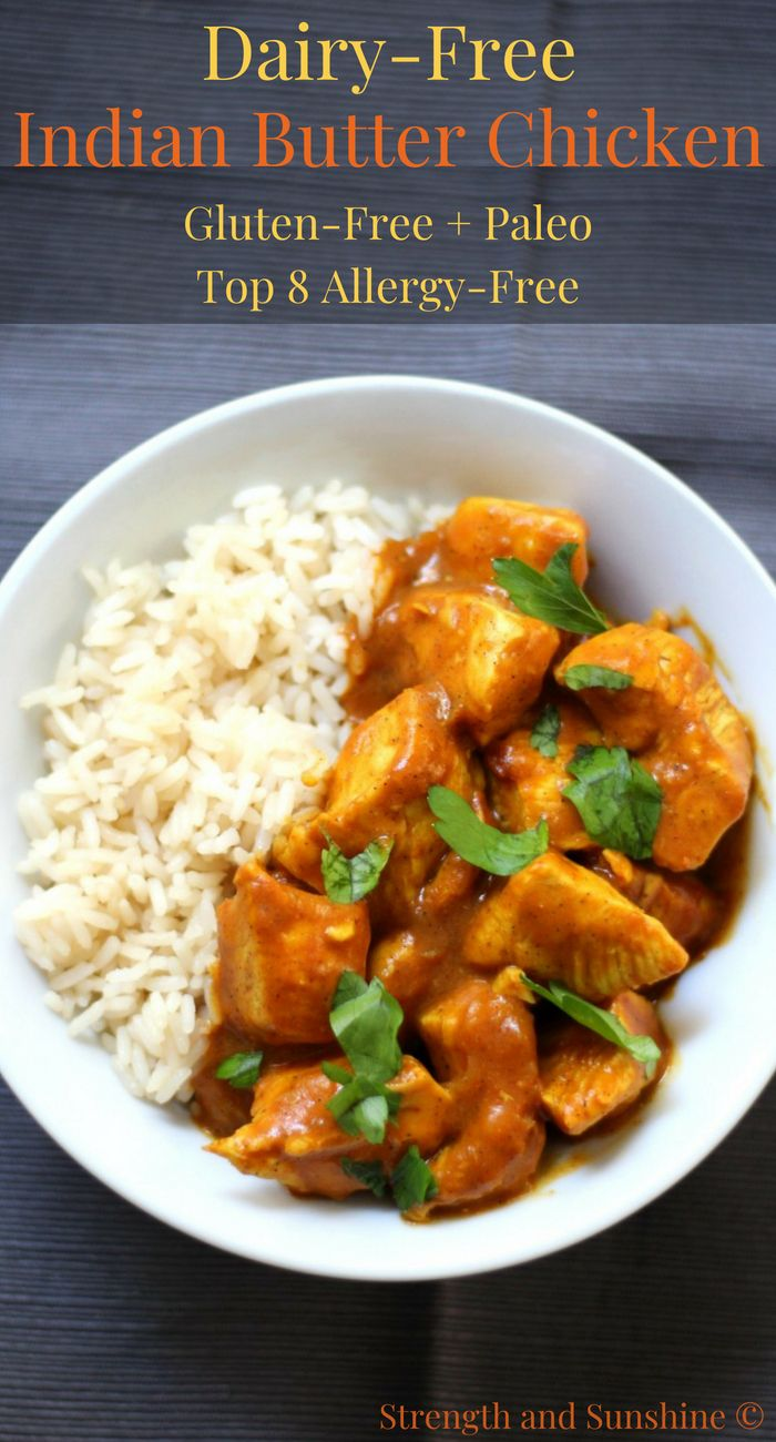 Easy Dairy-Free Indian Butter Chicken (Gluten-Free, Paleo, Allergy-Free) images