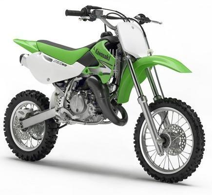 Yamaha Dirt Bikes Green