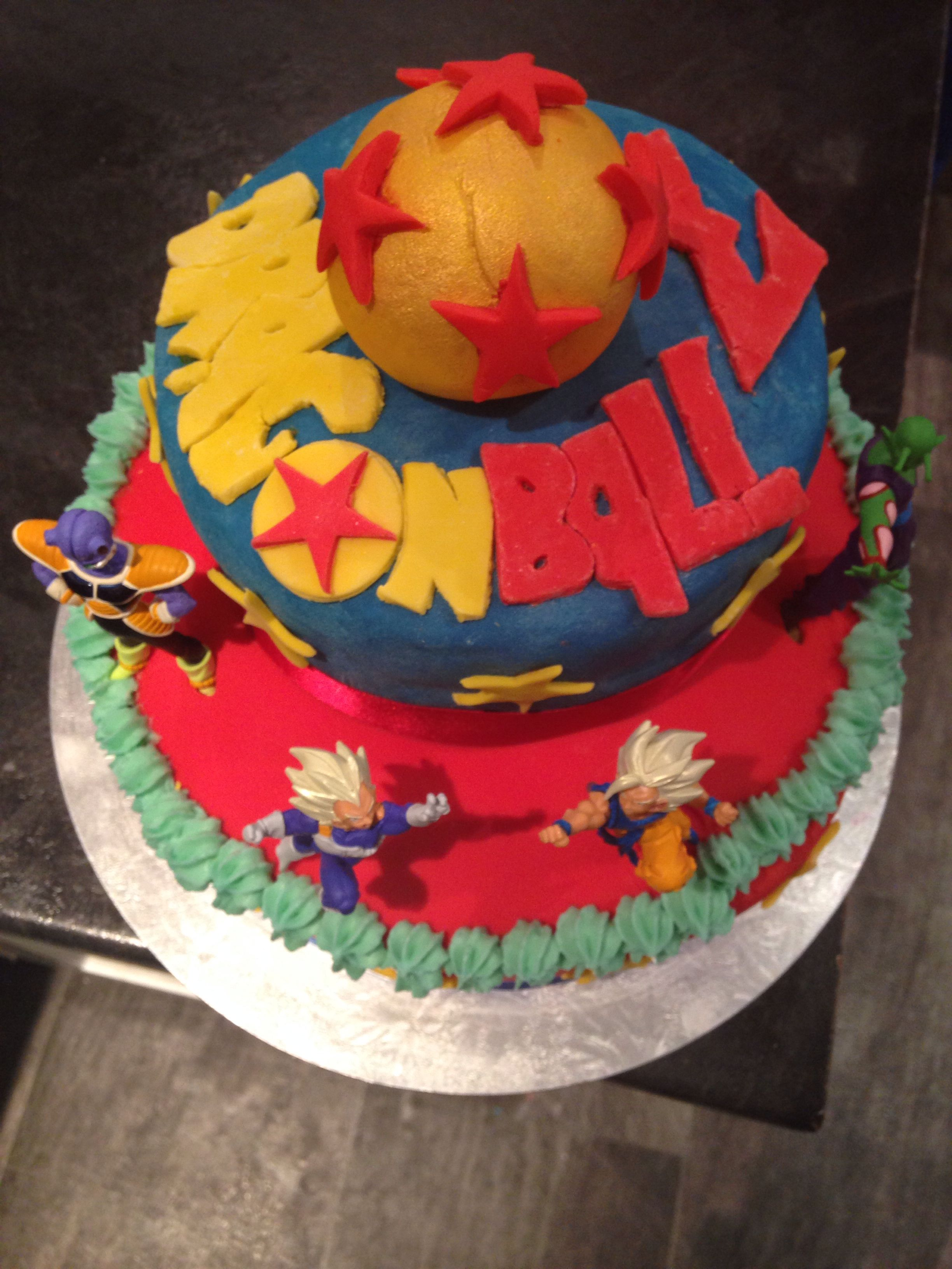 Homemade Dragon Ball Z Cake Cake Birthday Cake Cake