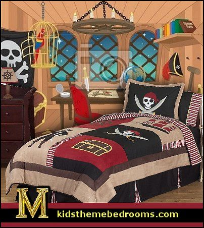 pirate bedroom. Pirate Theme Bedrooms Decorating ideas and Themed Decor