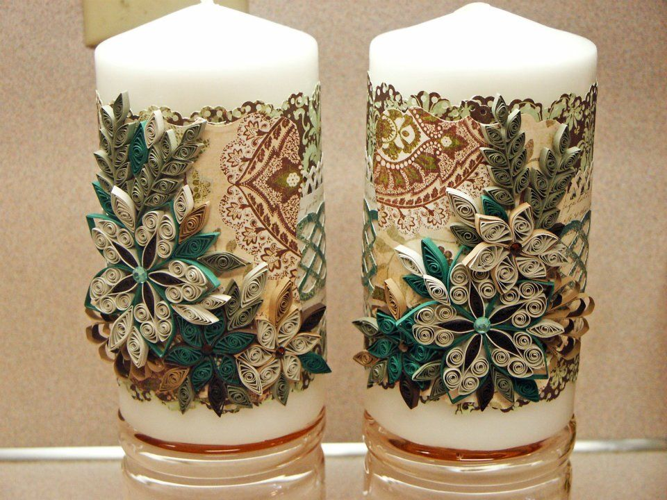 Christmas Candles Quilling Pinterest Quilling Paper