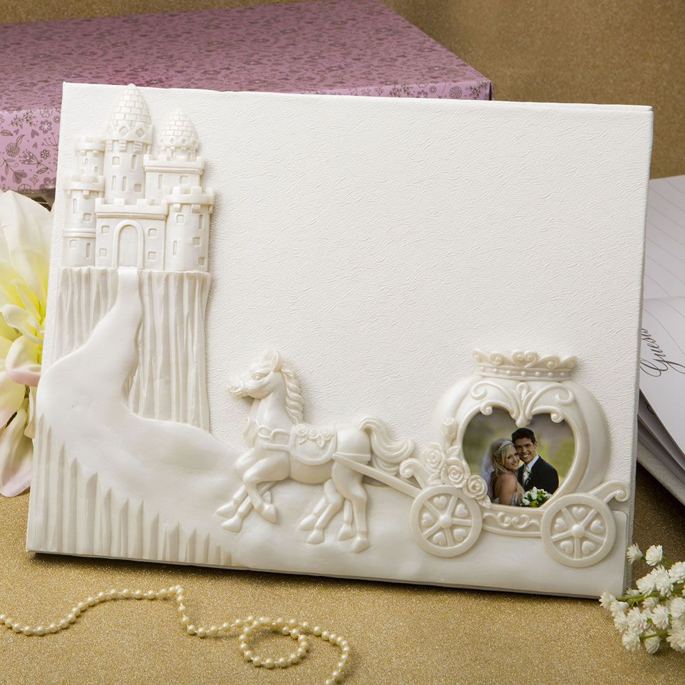 Fairytale design / Cinderella themed Guest book | Wedding vows and ...