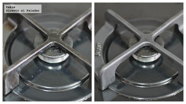 C mo limpiar los fogones de casa sin esfuerzo truco de cocina ideas para housekeeping and - Limpiar quemadores cocina gas ...