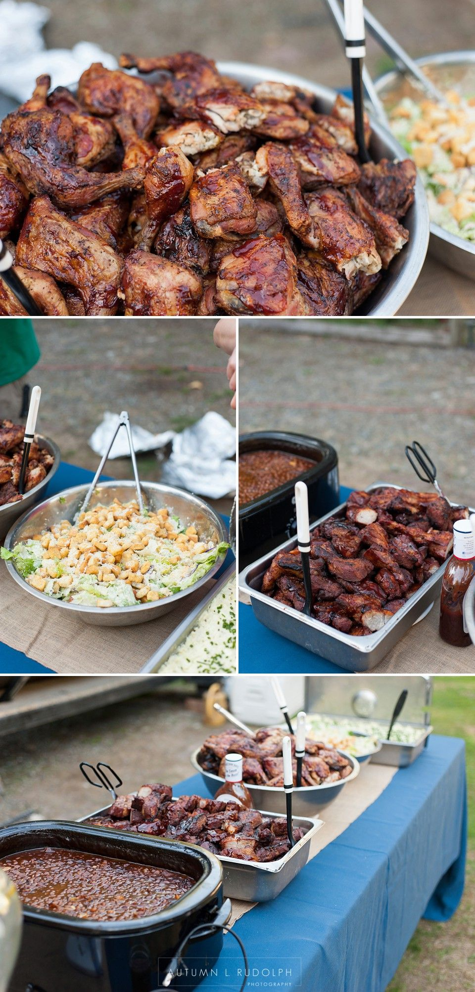 Backyard Wedding In Buckley | BBQ Catering | Autumn L Rudolph Photography