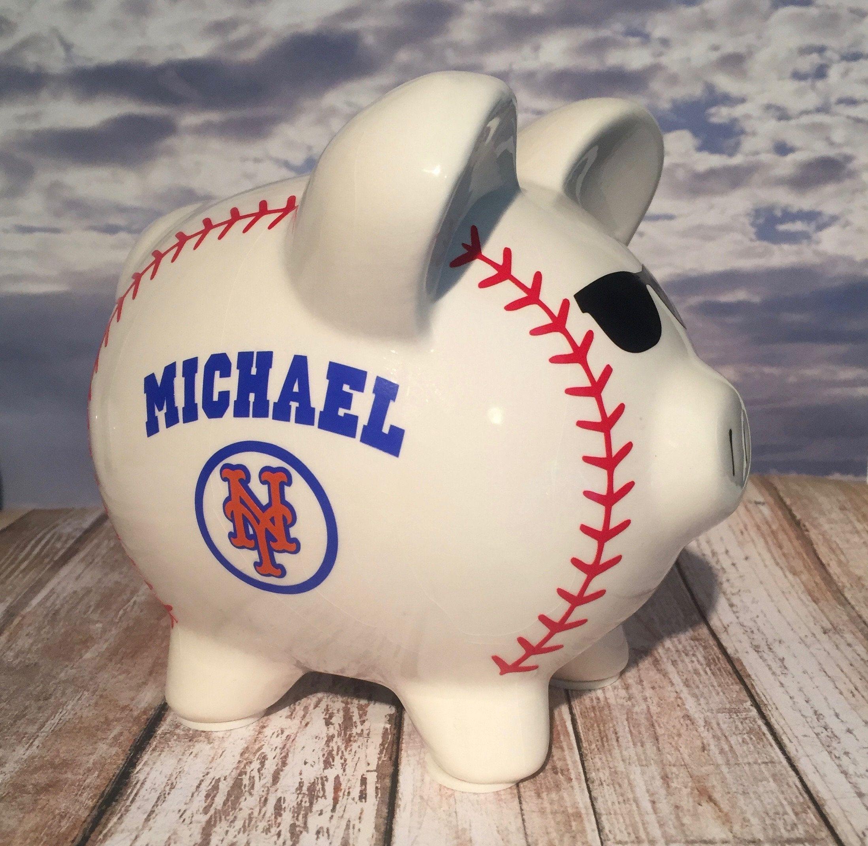 This Item Is Unavailable Piggy Bank New York Mets Baseball Mets Baseball
