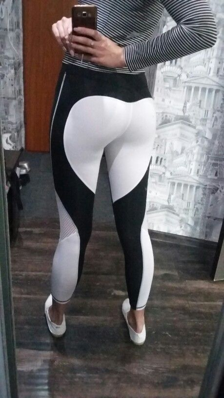 97aee65cc39 The heart shaped leggings design does a flawless job showing off your best  asset. (pun intended)  19.98 plus FREE shipping!  prettyfitbox.com