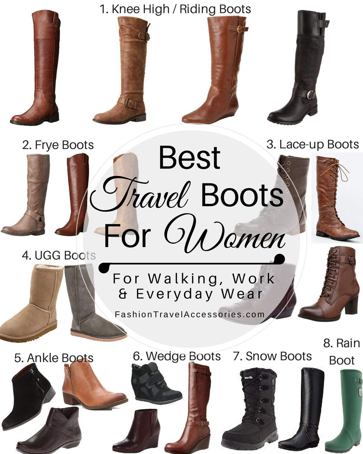 Good Boots For Women | Tsaa Heel