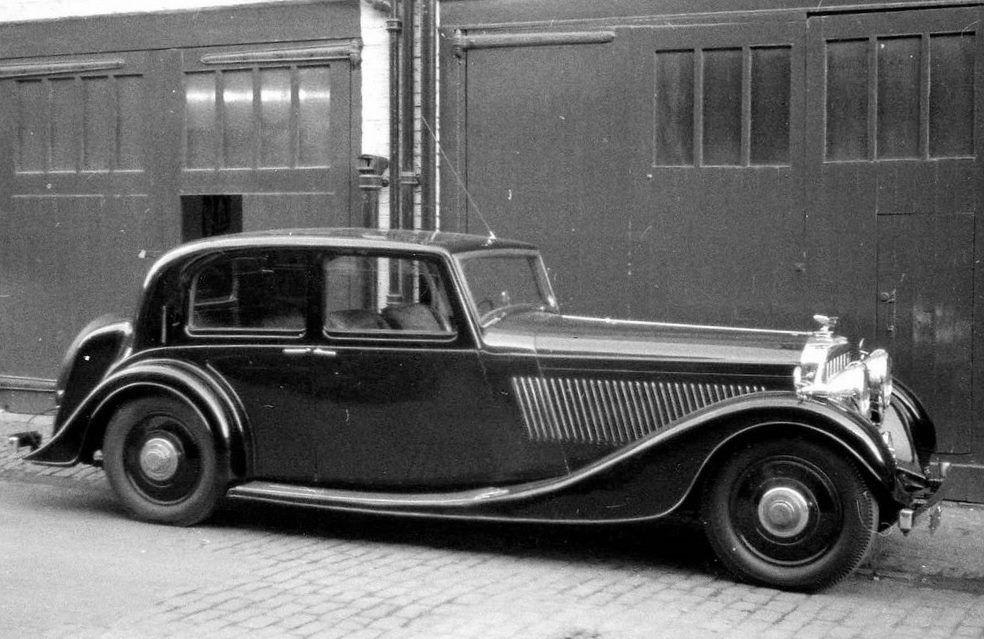 1937 Sports Saloon by Van den Plas (chassis B200KT) for W. Ewart Longbottom