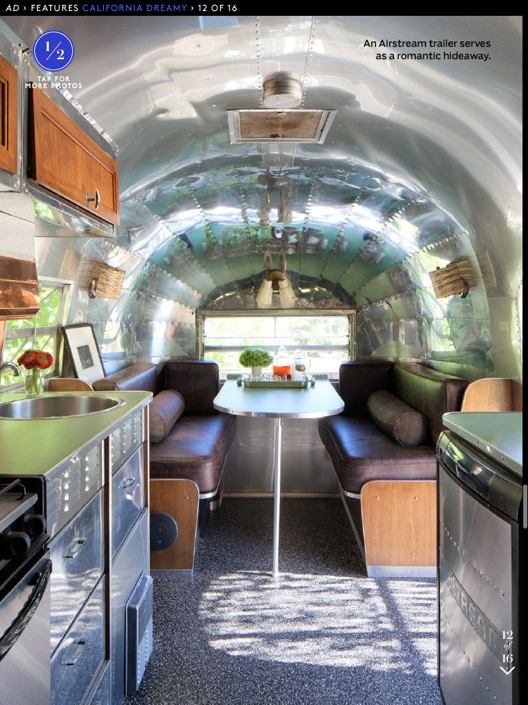 Patrick Dempsey House Tours In 2019 Airstream Trailers Patrick