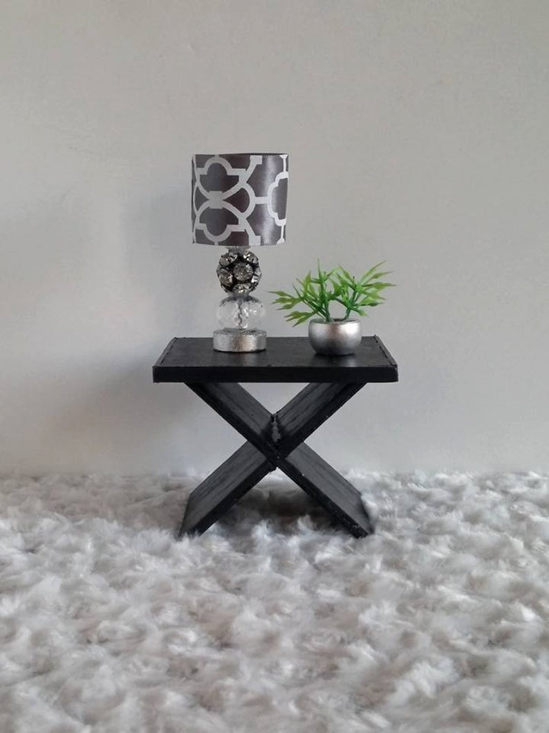 Doll Furniture 1:6 / Playscale Table - Side Table for Barbie / Fashion Royalty/ BJD / Tonner/ Blythe...