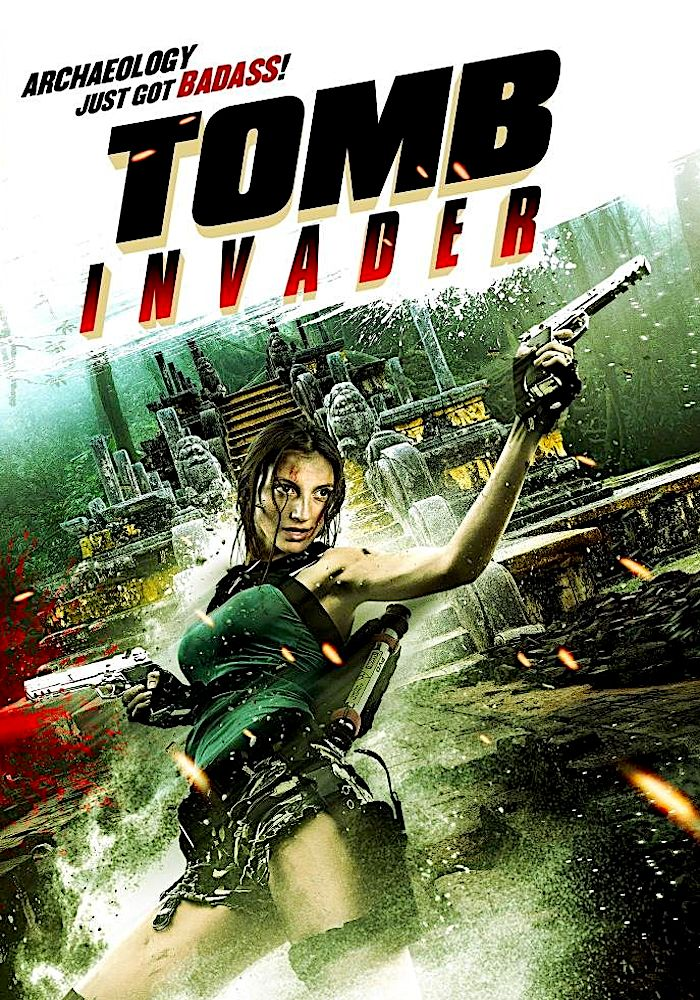 TOMB INVADER DVD (THE ASYLUM) Action movies, Streaming