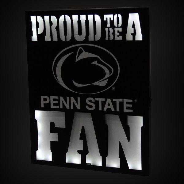 "Penn State Nittany Lions 12"" x 15"" LED Metal Wall Decor - $39.99"