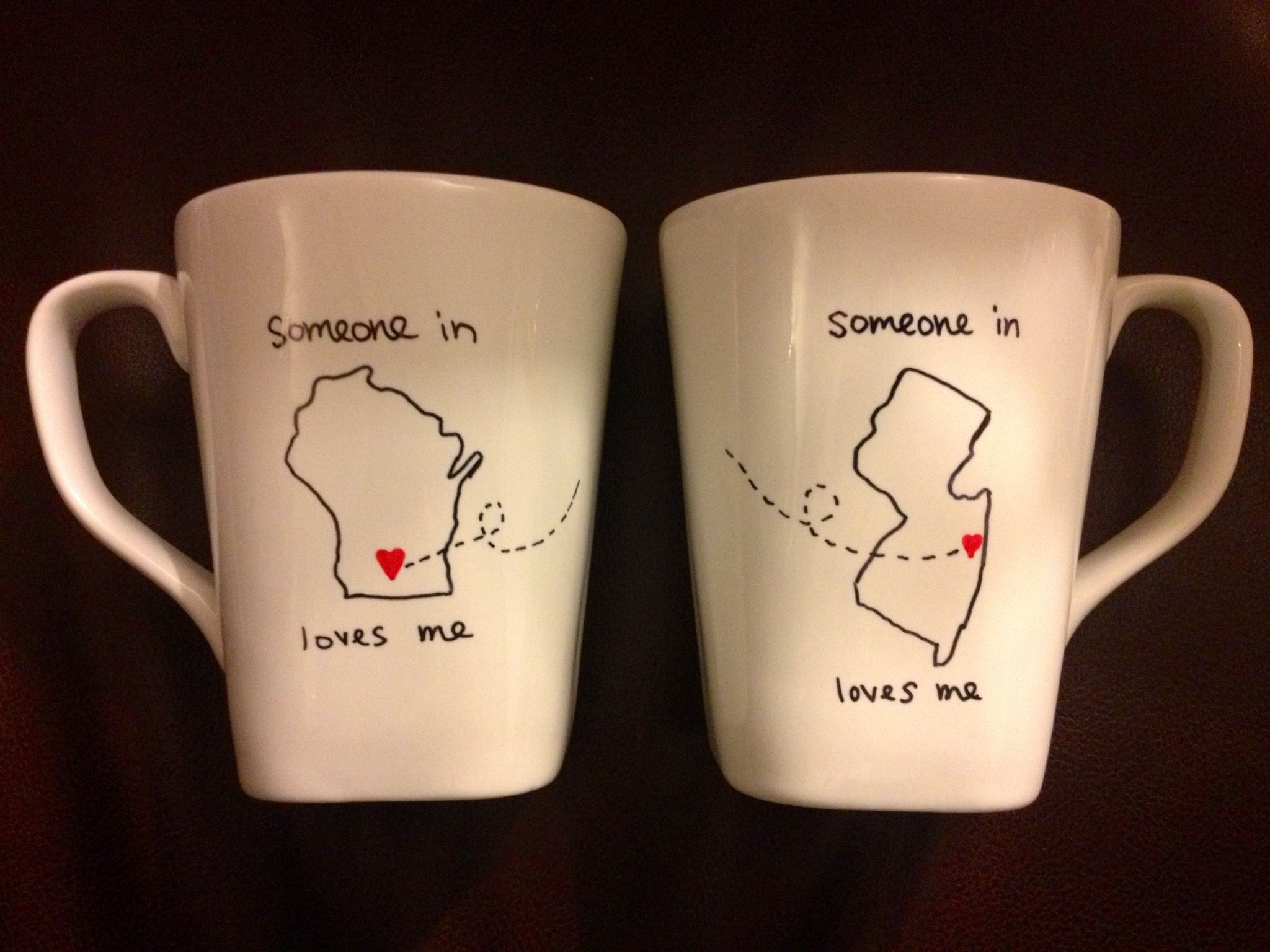 Long Distance Friendship Mugs Made This For My Best