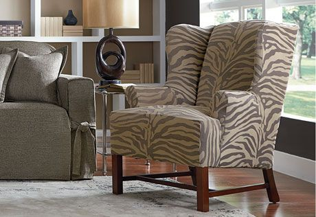 Our Velvet Textured Zebra Stripes Make A Bold Statement Yet The Soft,  Neutral Tones Mix Easily With A Variety Of Styles. Sure Fit Slipcovers  Stretch Zebra ...
