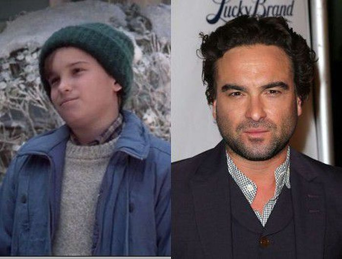 Johnny Galecki Christmas Vacation.Johnny Galecki Christmas Vacation Then Now People Pics