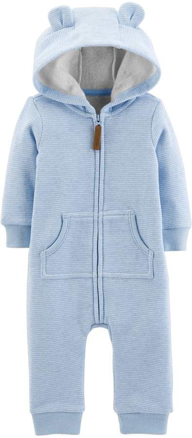 7a00be622 Baby Boy Carter's Fleece-Lined Bear Coverall | New Baby | Carters ...