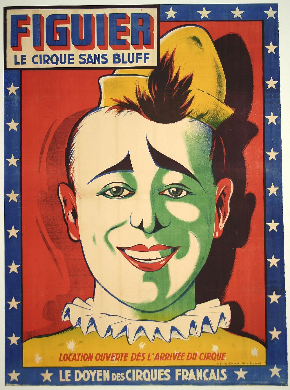 CPM REPRODUCTION ANCIENNE AFFICHE BERTRAM MILLS CIRCUS