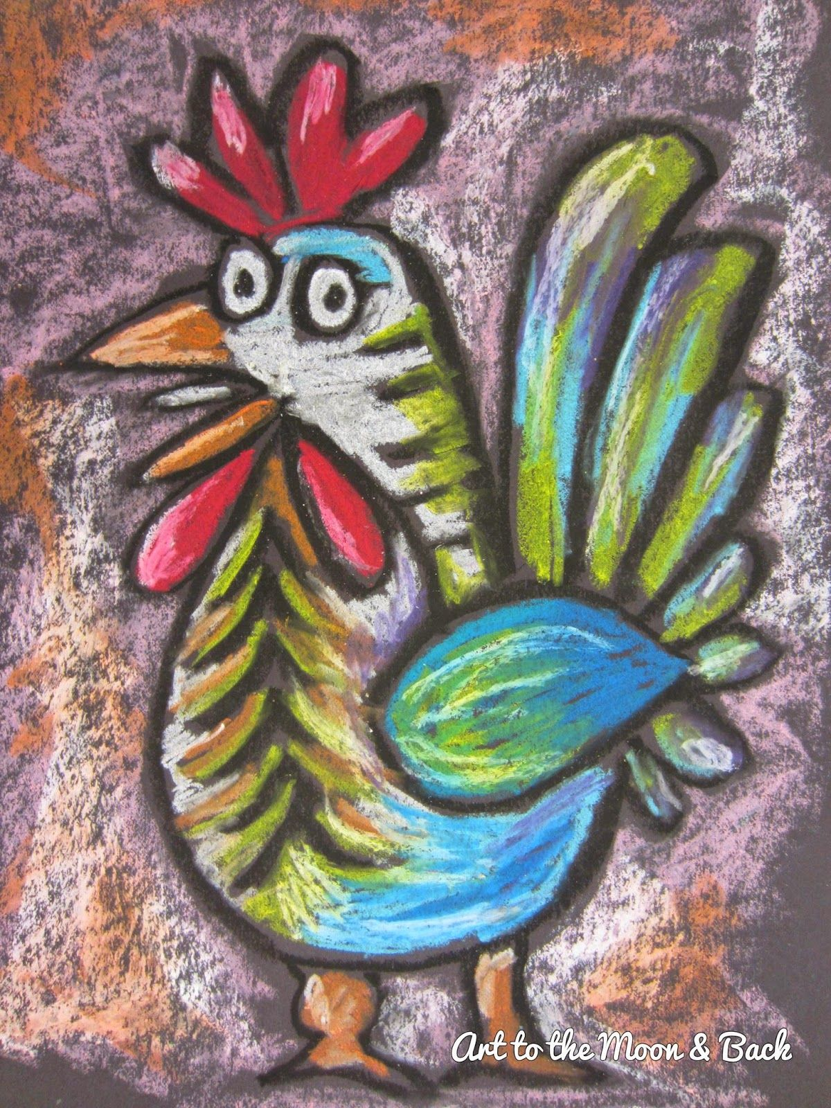 Pin by Heather Scott on Teaching Art | Animal art projects ...