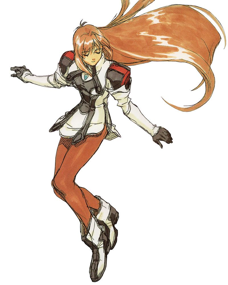 Xenogears Character Design : Elly concept xenogears art references inspirations