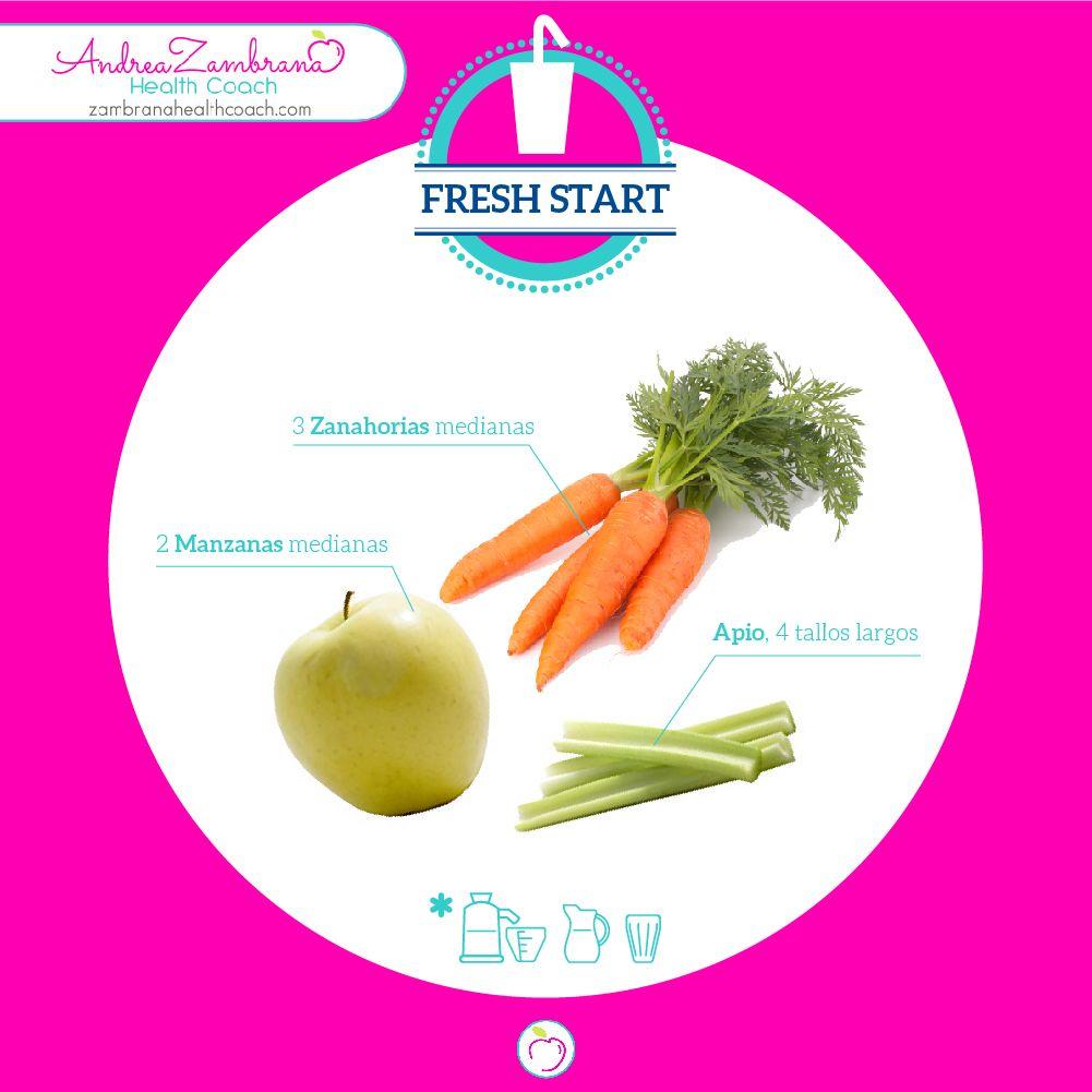 Comienza fresco el día con este saludable  jugo.  #recetasdejugos #consejossaludables #andrezambrana
