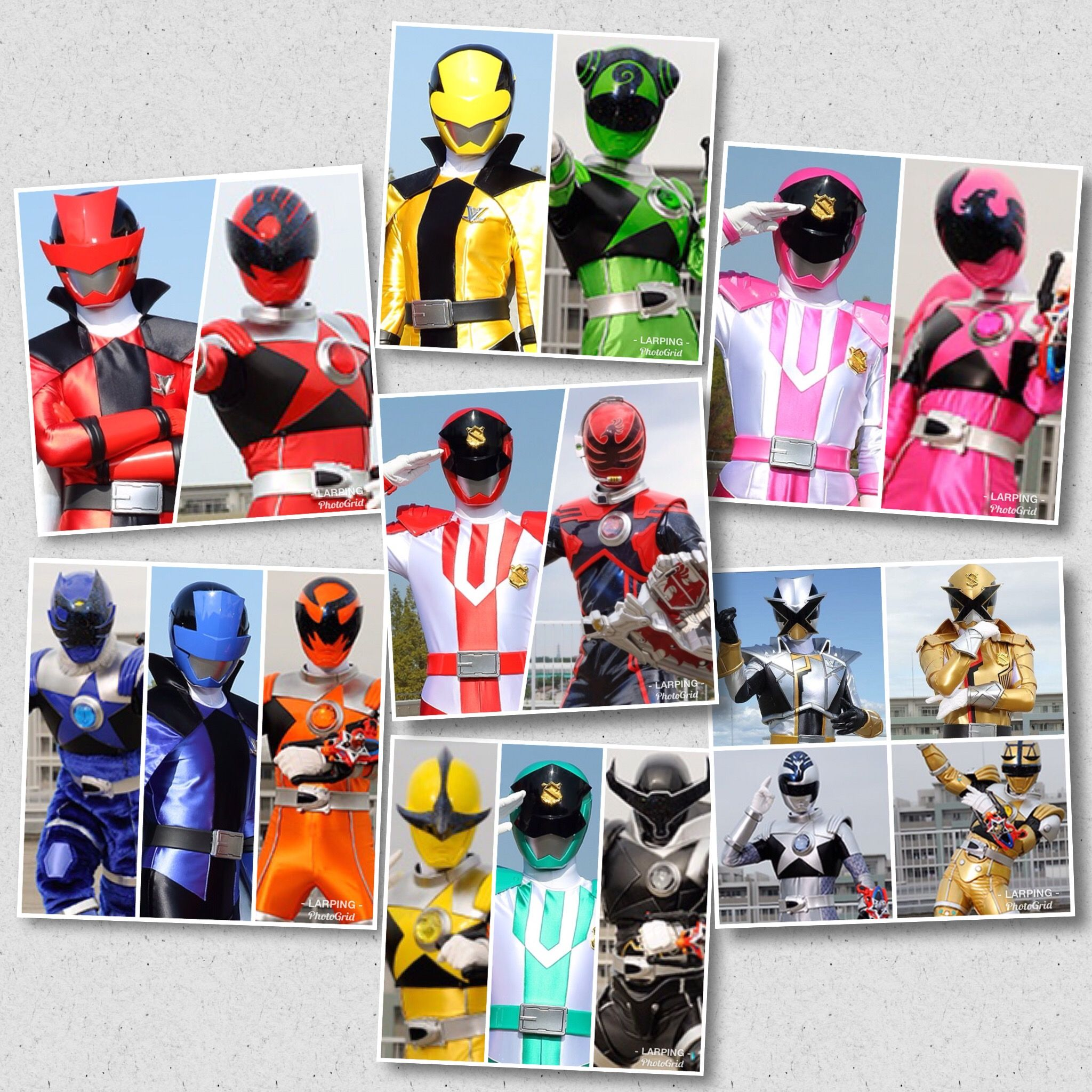 Lupinranger Vs Patranger Vs Kyuranger Color Ranger Power