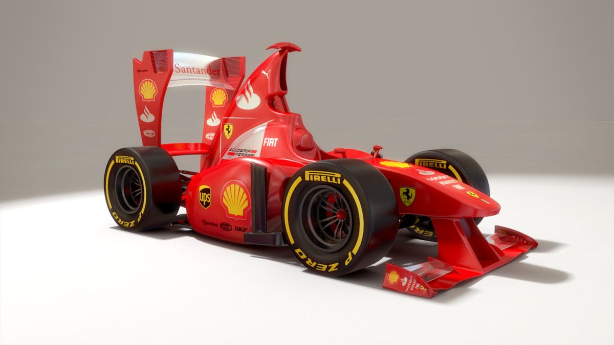 Cartoon Formula 1 3d X Formula 1 Rubber Band Car Amazing Cars