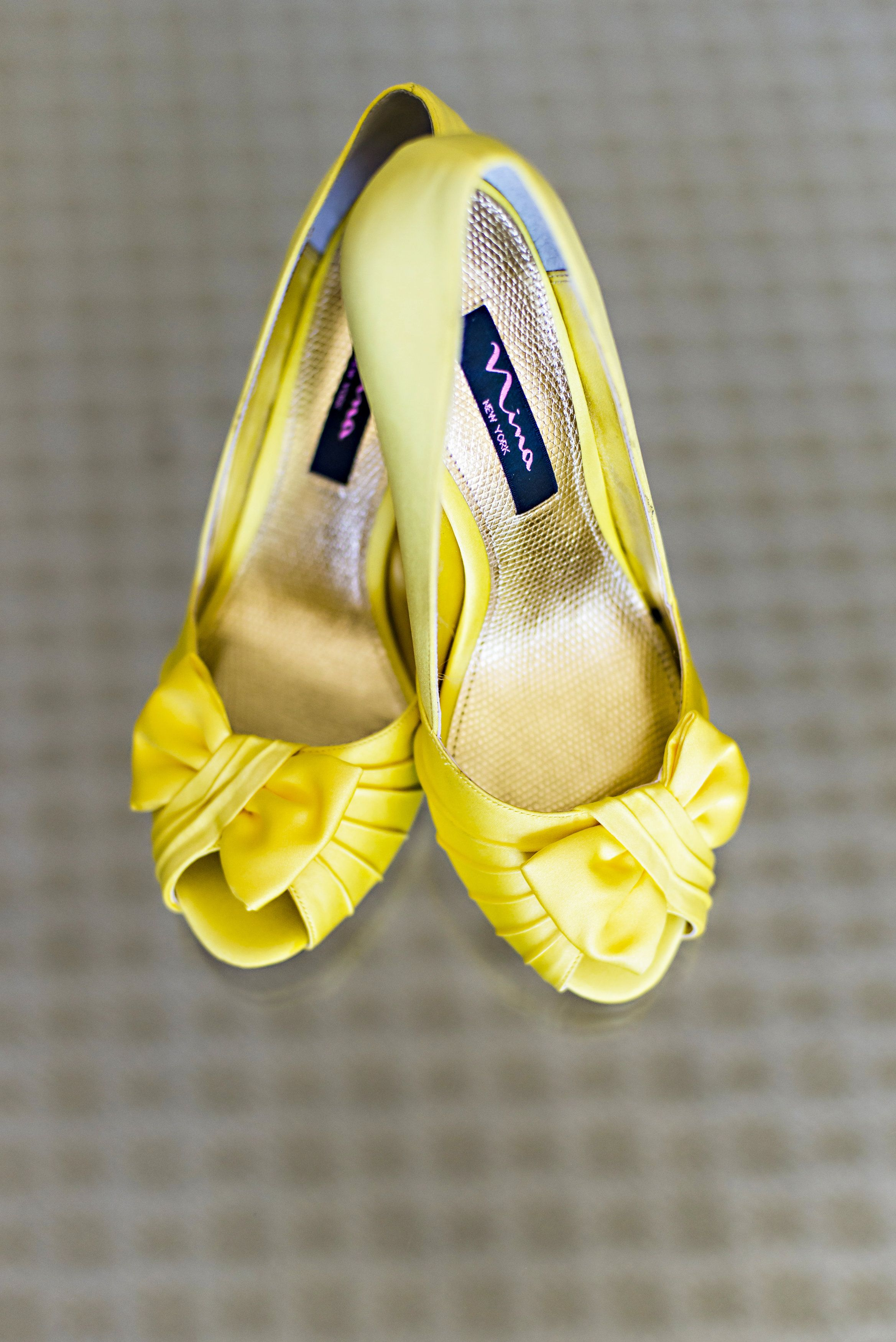 Nina Forbes Canary Luster Satin By Nina Shoes Yellow Wedding Shoes Yellow Shoes Canary Yellow Weddings
