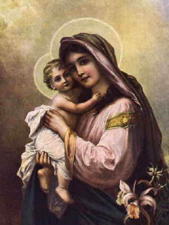 Mary's Heart - Images of Virgin Mary