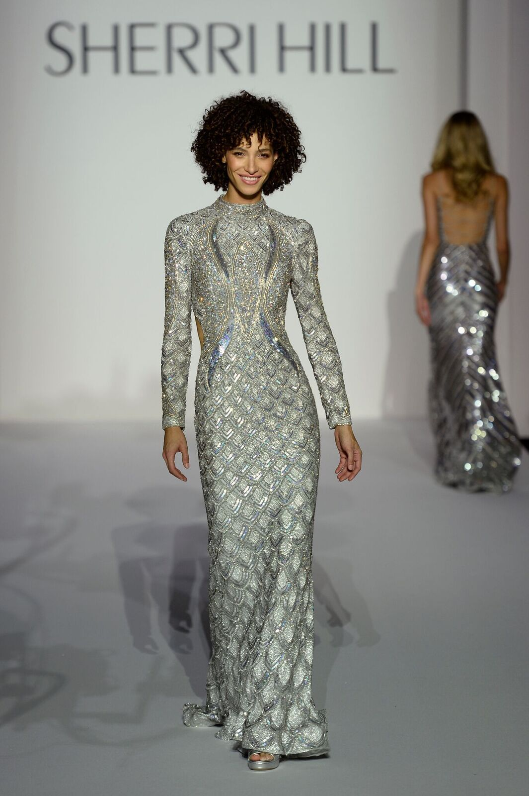 79358daff6c2 New York Fashion Week - Spring 2019 - Sherri Hill   Formal wear 7 in ...