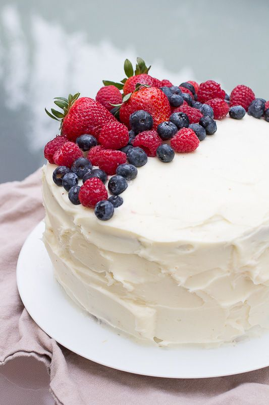 Berry Chantilly Lace Cake Recipe