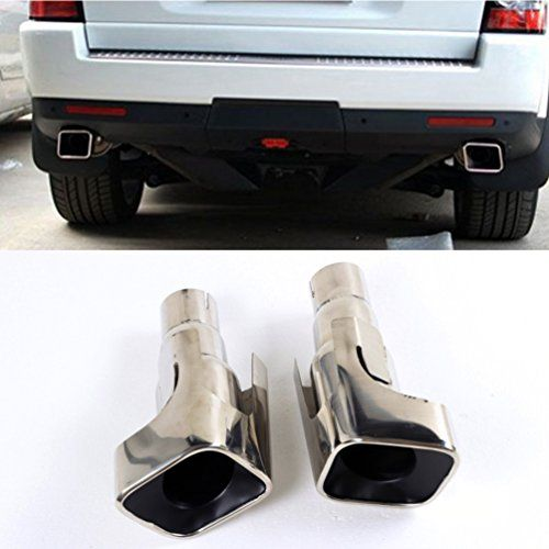 Jcsportline Stainless Steel Exhaust Tips For Land Rover Range Rover Sport 2010 2011 2012 Faceliftl Gasolin Range Rover Sport 2010 Range Rover Sport Range Rover